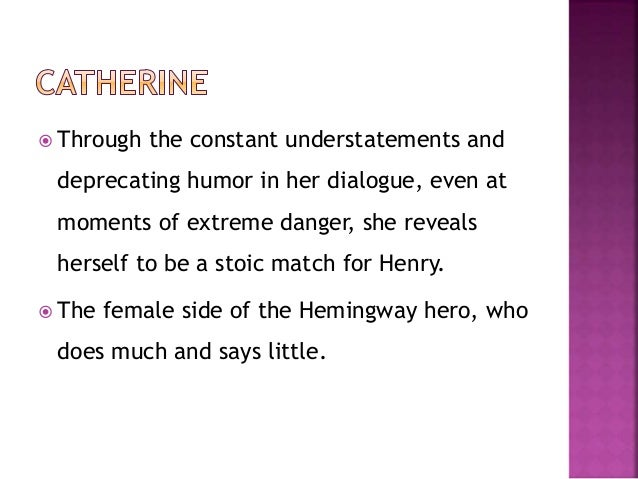 the portrayal of the code hero in a farewell to arms by ernest hemingway Discussion of the main themes from a farewell to arms by ernest hemingway homework online study guides the code hero rejects these.