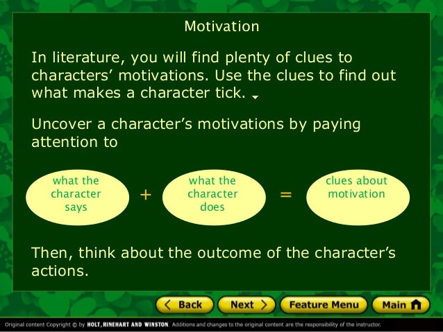 Characterization Powerpoint