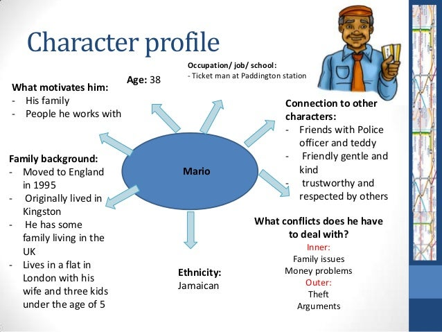 character profile essay