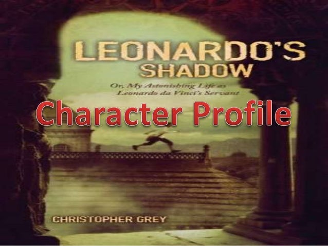 The main characters in the novel are Giacomo and Leonardo. My favorite character in the novel is Giacomo because he is a v...