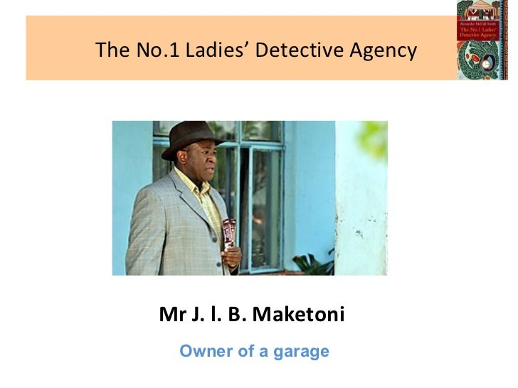 the ladies detective agency Watch full episodes of the no 1 ladies' detective agency and get the latest breaking news, exclusive videos and pictures, episode recaps and much more at tvguidecom.