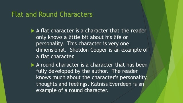 Types of characters.