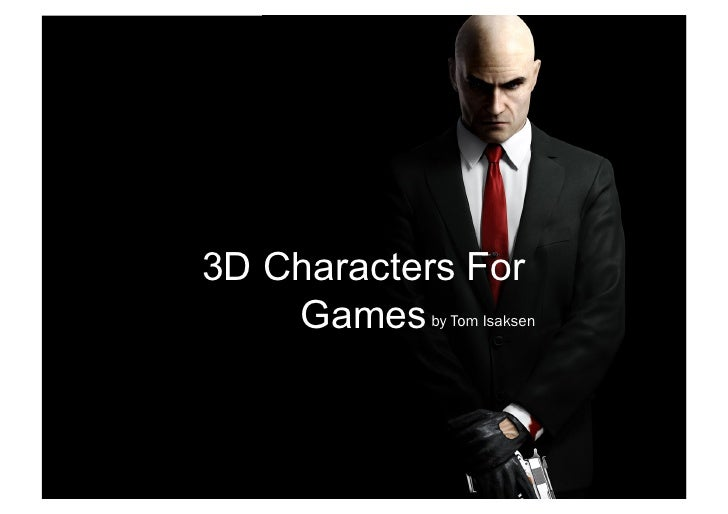 3D Characters For    Games by Tom Isaksen