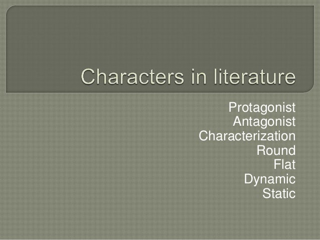 round characters in literature