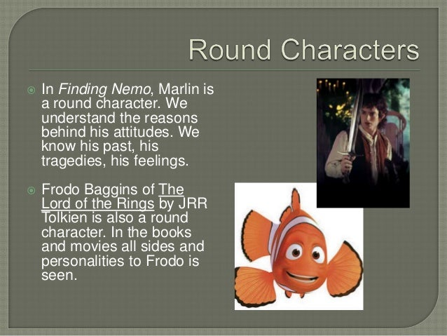 round character example in literature