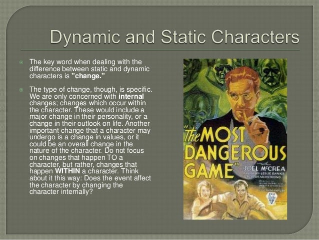 Dynamic Character Design Definition : Characters in literature