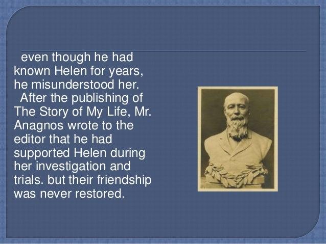 Write a character sketch of helen keller