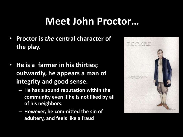 how old is john proctor in the crucible
