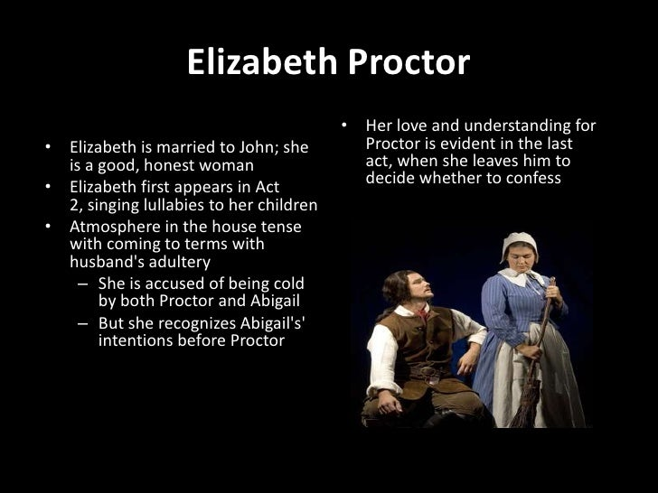 the crucible quotes elizabeth proctor act 4
