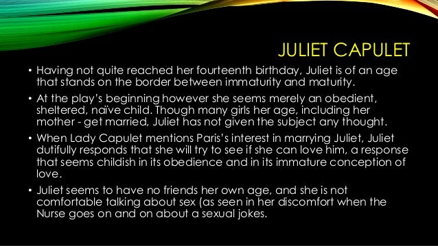 romeo and juliet character traits essay Shakespeare's romeo and juliet are literature's most famous lovers read a character profile of juliet capulet here.
