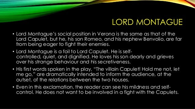 lord capulet character analysis Everything you ever wanted to know about lady capulet in romeo and juliet lady capulet back next character analysis after lord capulet storms out.
