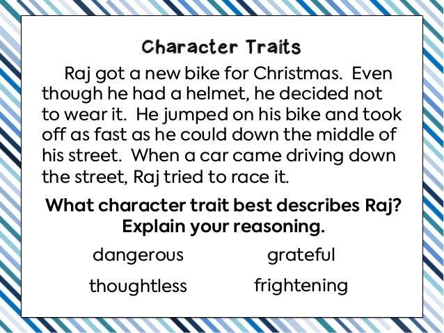 Teaching Character Traits Slideshow Slide 3