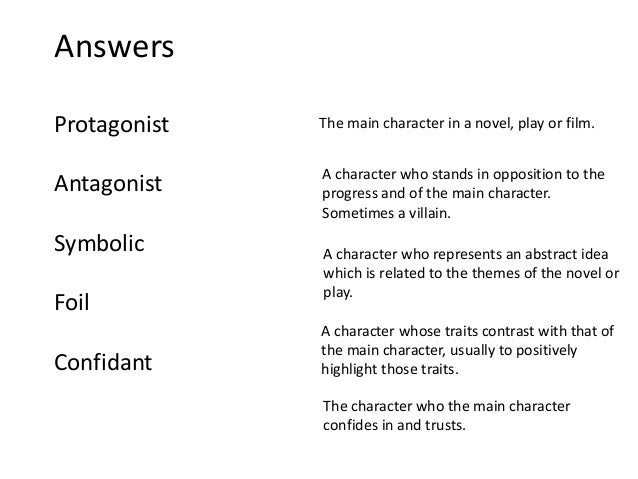 Character Types in The Hound of the Baskervilles
