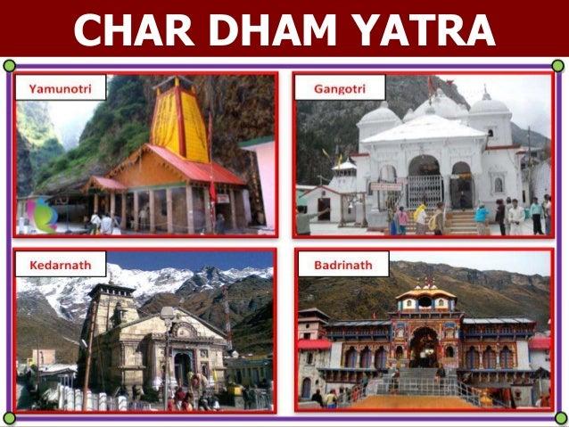 APNA BHARAT TOURS & TRAVELS PH. 079 – 26564141 (M) 09426171899 1 CHAR DHAM YATRA