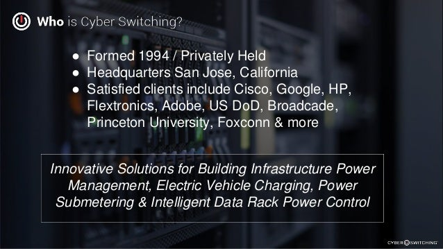Charge More...For Less with Cyber Switching EV Solutions Slide 3