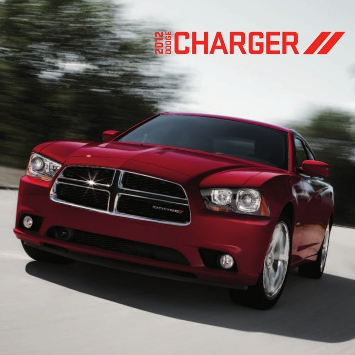 Dodge Charger For Sale: 2012 Dodge Charger EBrochure