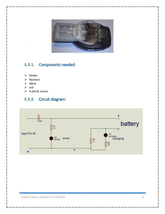 15  a simple mobile charger