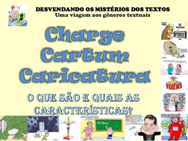 Charge, Cartum, Caricatura Slide 1