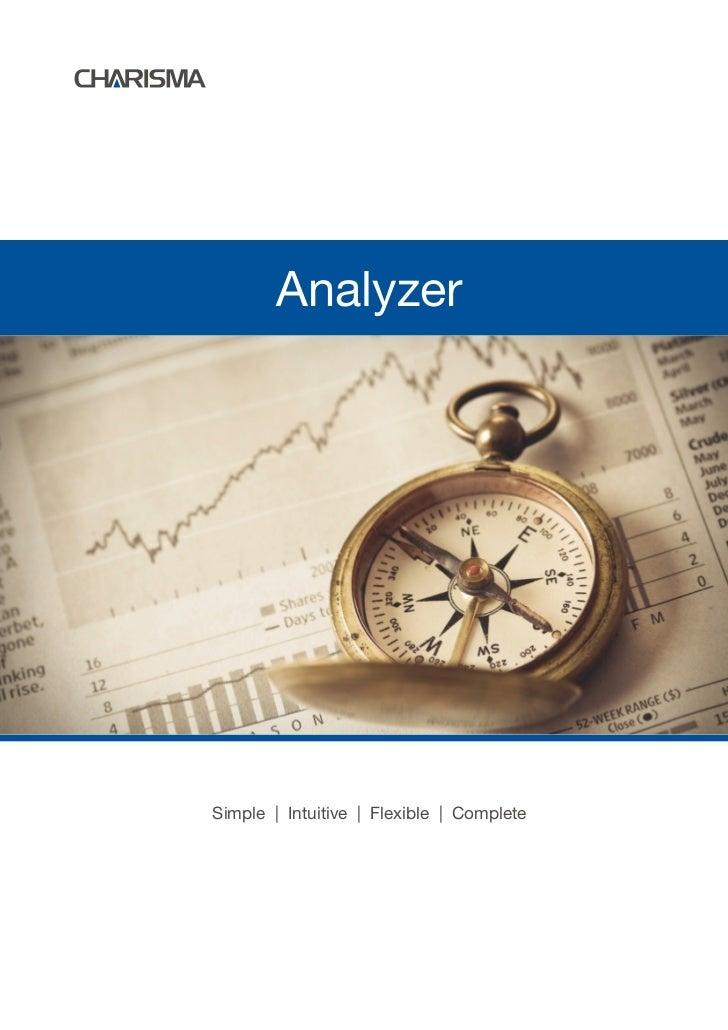AnalyzerSimple   Intuitive   Flexible   Complete