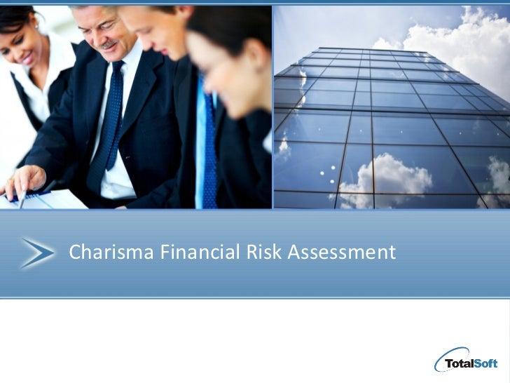 Charisma Financial Risk Assessment