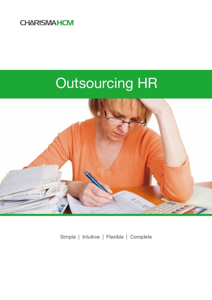 Outsourcing HRSimple | Intuitive | Flexible | Complete