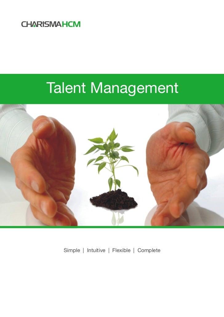 Talent Management  Simple | Intuitive | Flexible | Complete
