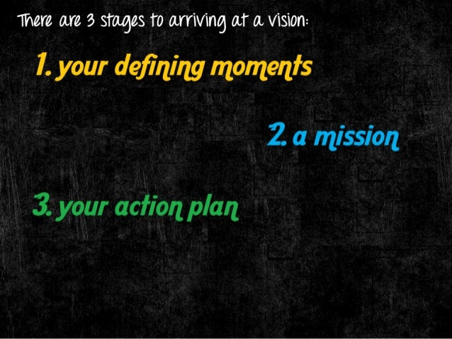 there are 3 stages 1'0 0.1111/1116 0T 0. 1/131011:  l.  your defining momenfs  - That is when you realize you're on  someth...