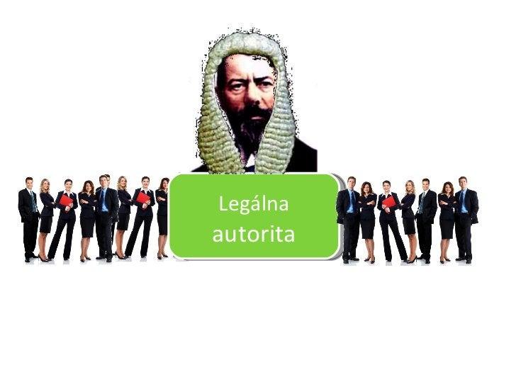 Legálna  autorita