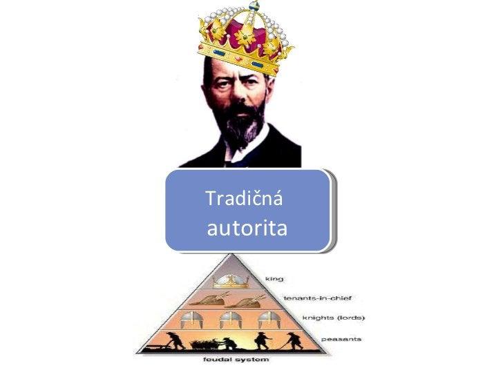 Tradičná   autorita
