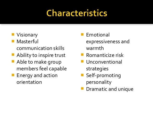 charismatic leadership style definition