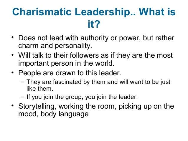 charismatic leadership vs transformational leadership