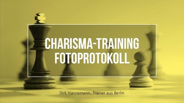 Dirk Hannemann, Trainer aus Berlin