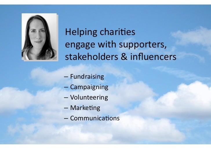 Social Media for Change - prepared for Charitycomms, 22 Oct 08 Slide 2
