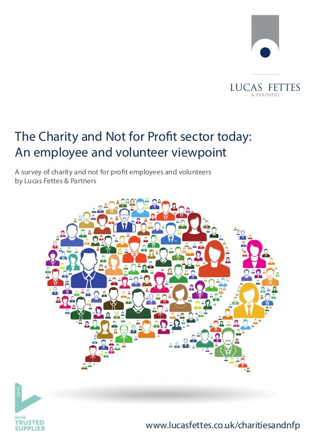 www.lucasfettes.co.uk/charitiesandnfp The Charity and Not for Profit sector today: An employee and volunteer viewpoint A s...