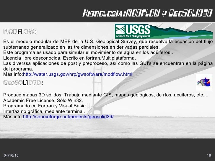 Hidráulica e hidrología: HEC