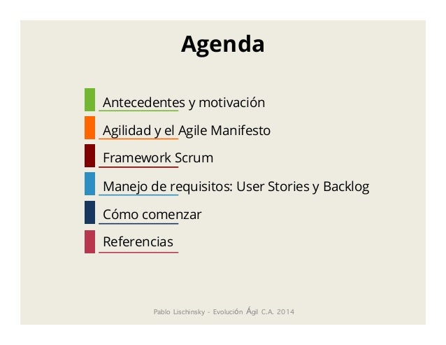 Desarrollo ágil de software, Scrum Slide 2