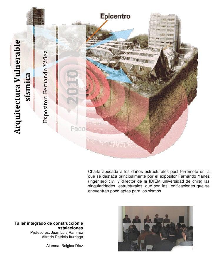 Arquitectura Vulnerable                              Expositor: Fernando Yáñez                                            ...