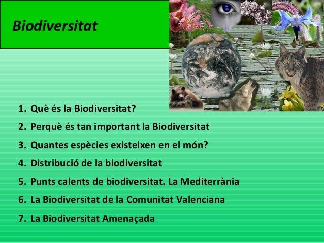 Charla biodiversitat Slide 2