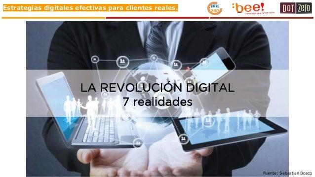 Estrategias digitales efectivas para clientes reales. Fuente: Sebastian Bosco