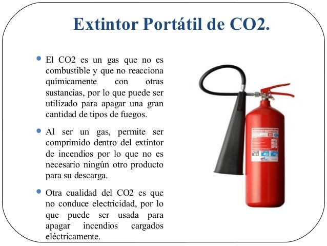 Charla uso y manejo de extintores extintor porttil de co2 thecheapjerseys Image collections