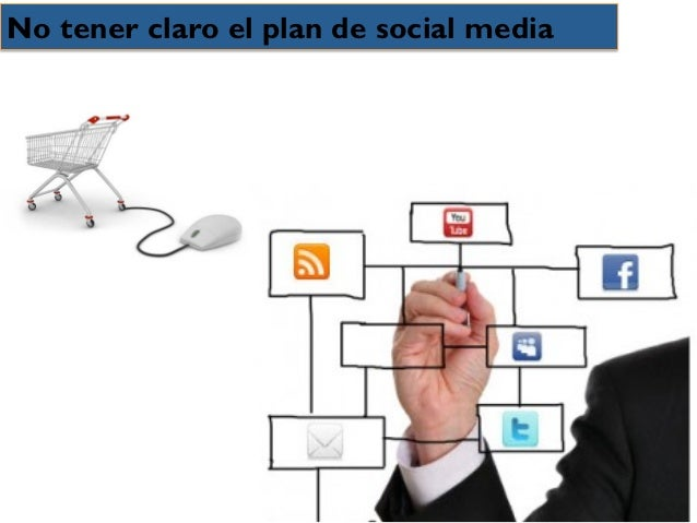 No tener claro el plan de social media