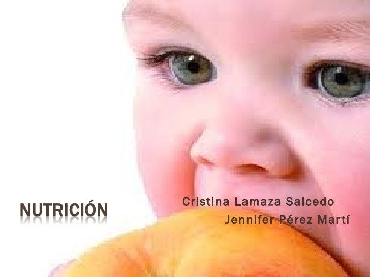 Cristina Lamaza Salcedo       Jennifer Pérez Mar tí