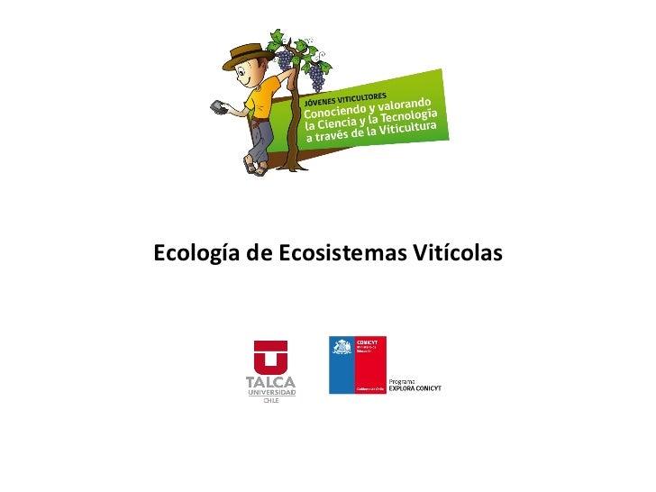 Ecología de Ecosistemas Vitícolas