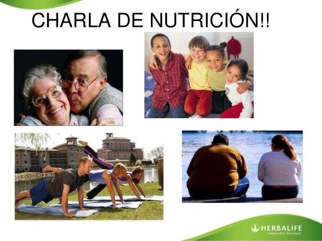 CHARLA DE NUTRICIÓN!!