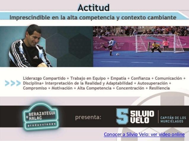 Conocer a Silvio Velo: ver video online
