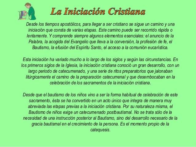 """El Concilio Vaticano II ha restaurado para la Iglesia latina, """"el catecumenado deadultos, dividido en diversos grados"""" (SC..."""