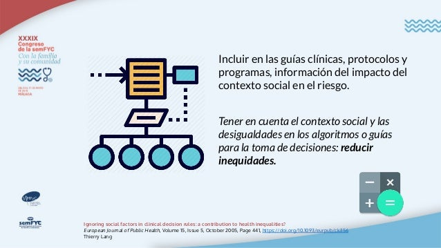 Del mapa al territorio La tarea del médico/a de Atención Primaria es conectar la brecha entre el mapa (guía clínica) y el ...