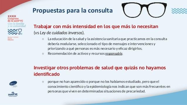 Propuestas para la consulta Cribado de la pobreza en la consulta (Robles S; Padilla J. Cribado de pobreza en la consulta d...
