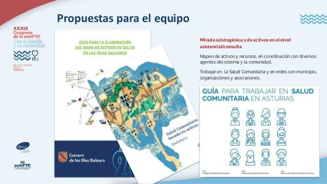 Propuestas para la organización (sanitaria y no sanitaria) Planes de Salud: salud en todas las políticas y conjunción mult...