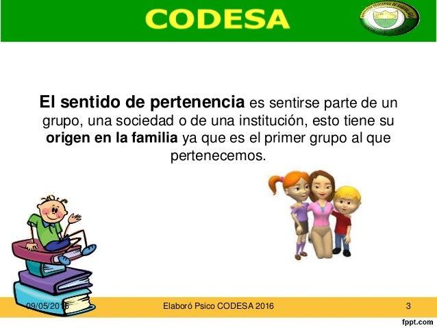 SENTIDO DE PERTENENCIA PDF DOWNLOAD